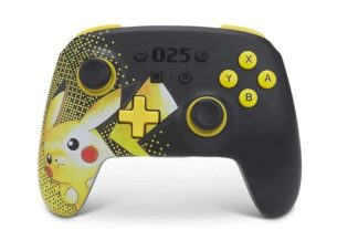 Celebrate 25 Years Of Pokémon With This Pikachu-Themed PowerA Controller 3