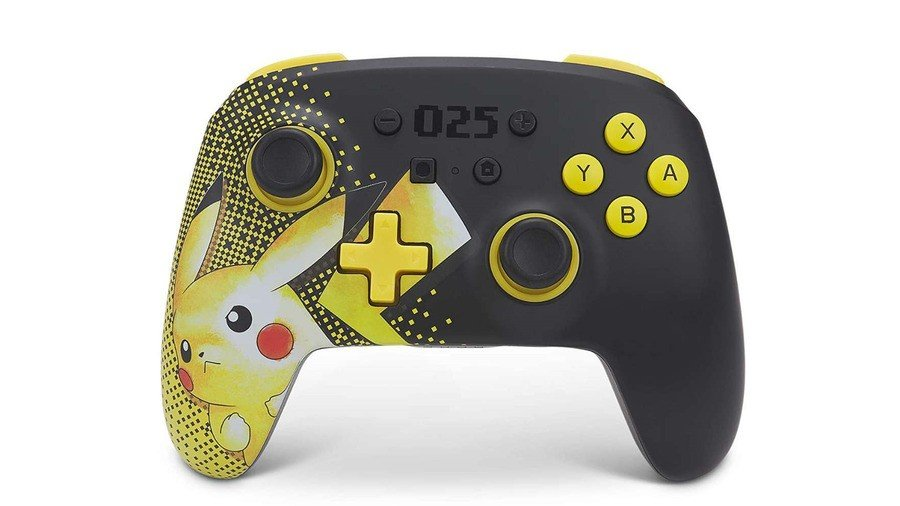 Celebrate 25 Years Of Pokémon With This Pikachu-Themed PowerA Controller 1