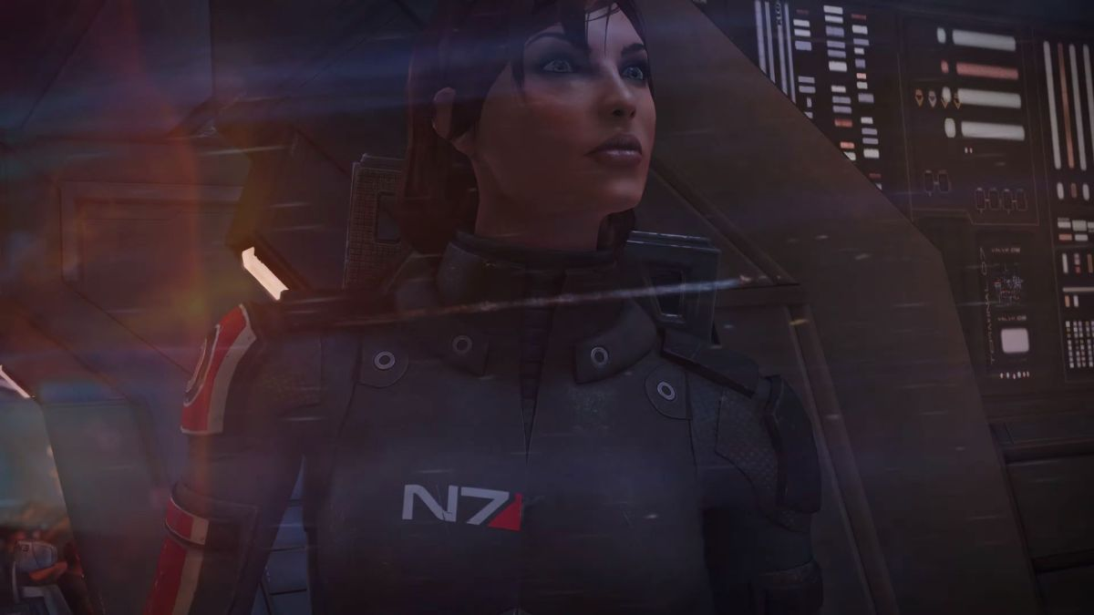 FemShep finally gets her due in Mass Effect Legendary Edition trailer, Jennifer Hale extremely stoked FemShep looks meaningfully into the distance 1