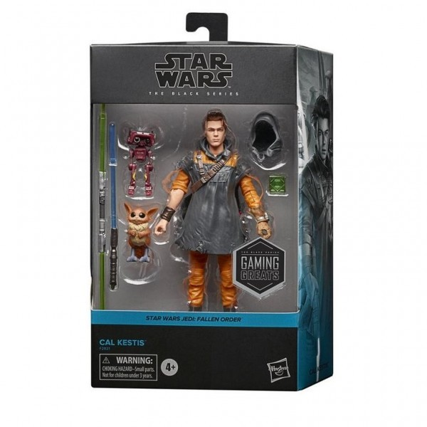 Hasbro Unveils Gaming Greats Action Figure Of Star Wars Jedi: Fallen Order's Cal Kestis 1