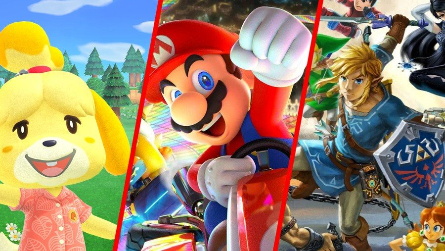 Here Are The Top Ten Best-Selling Nintendo Switch Games Of All Time 1