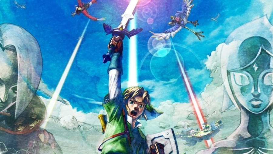 Nintendo Gives Us A Look At The Switch Box Art For Zelda: Skyward Sword HD 1