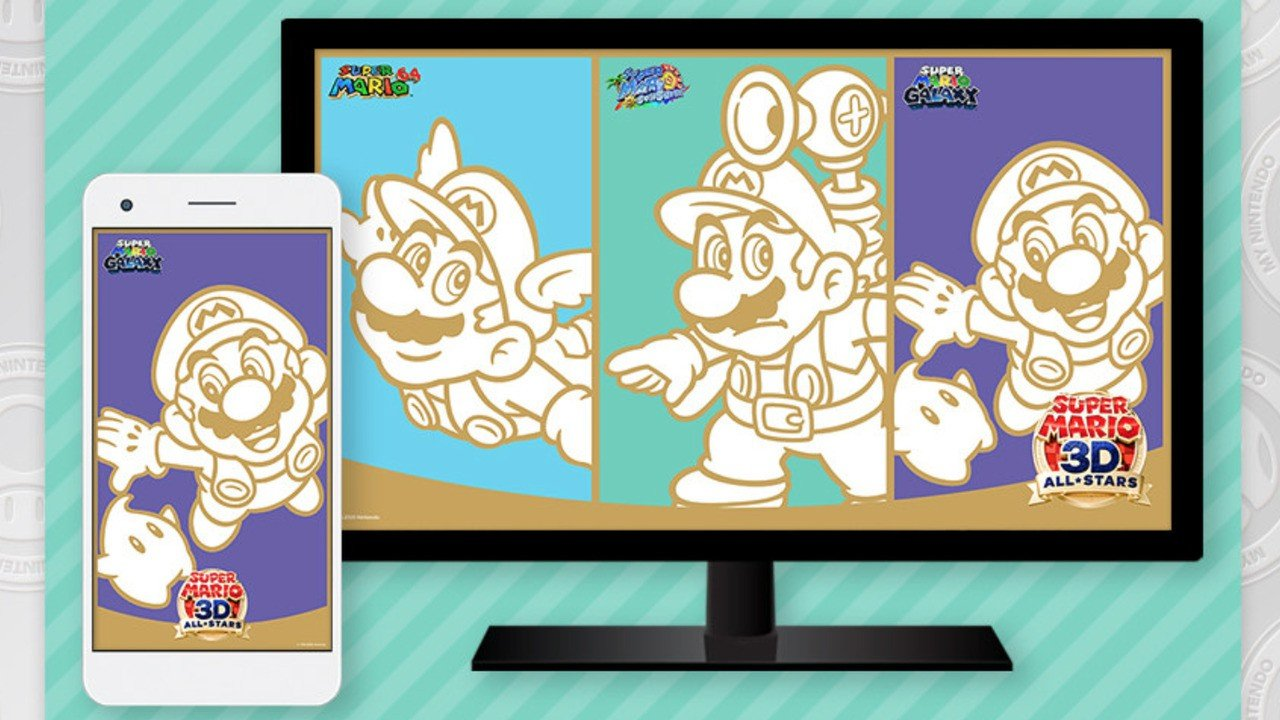 Nintendo's Giving Away Free Super Mario 3D All-Stars Wallpapers For A Limited Time (Europe) 1