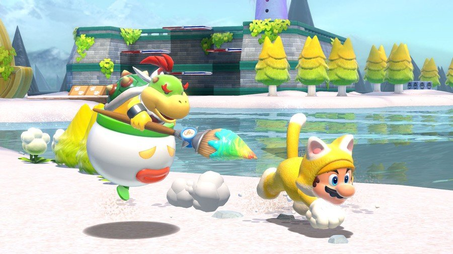 Random: Neat Bowser's Fury Trick Lets You Farm Coins For Quick Power-Ups 1