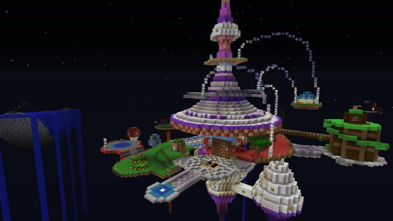 Random: Super Mario Galaxy Gets Remade In Minecraft, With 86 Stars To Collect 2