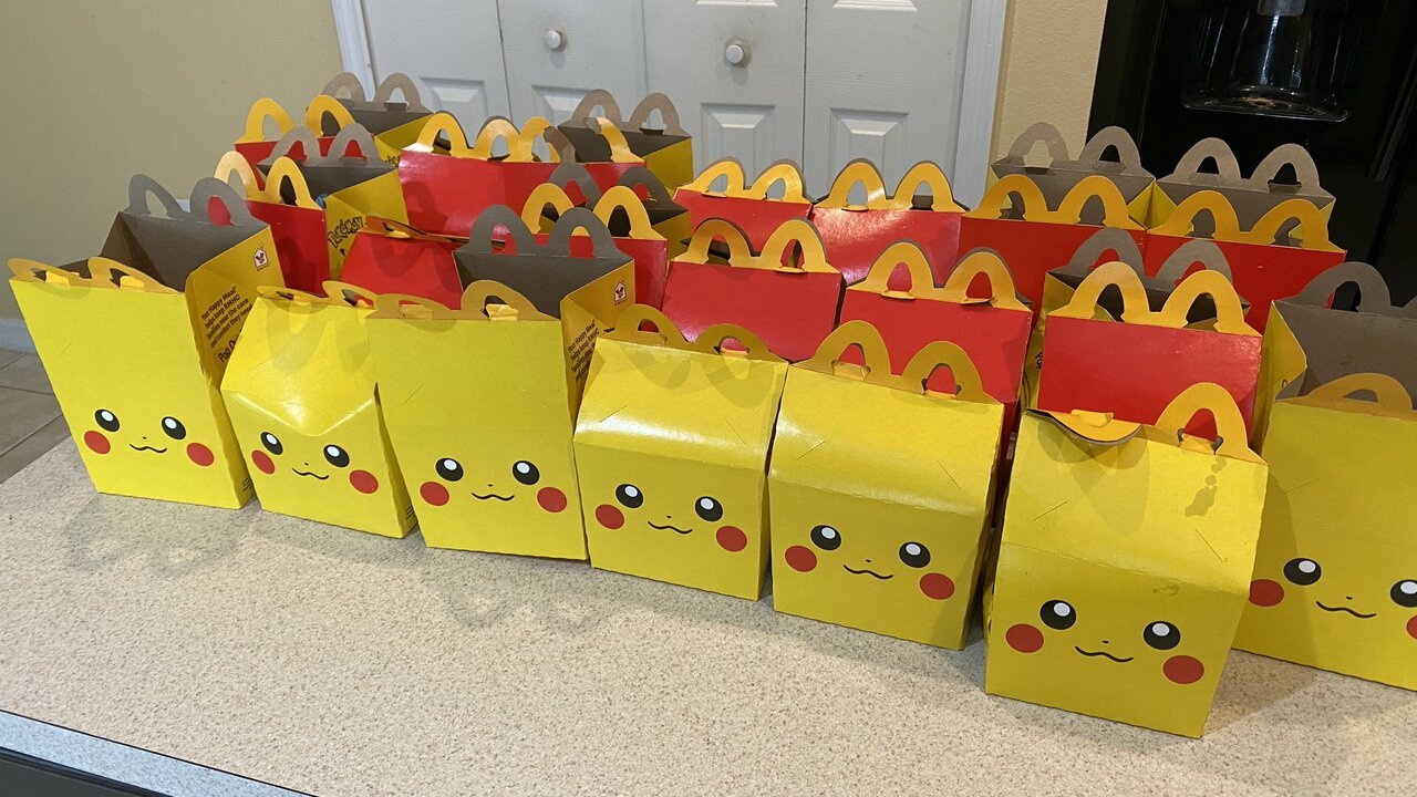 Scalpers And Collectors Buy Up McDonald's Pokémon Happy Meals 1