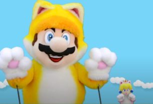 The Cat Mario Show Is Back, Showing Off Bowser's Fury (And BIG Cat Mario) 3