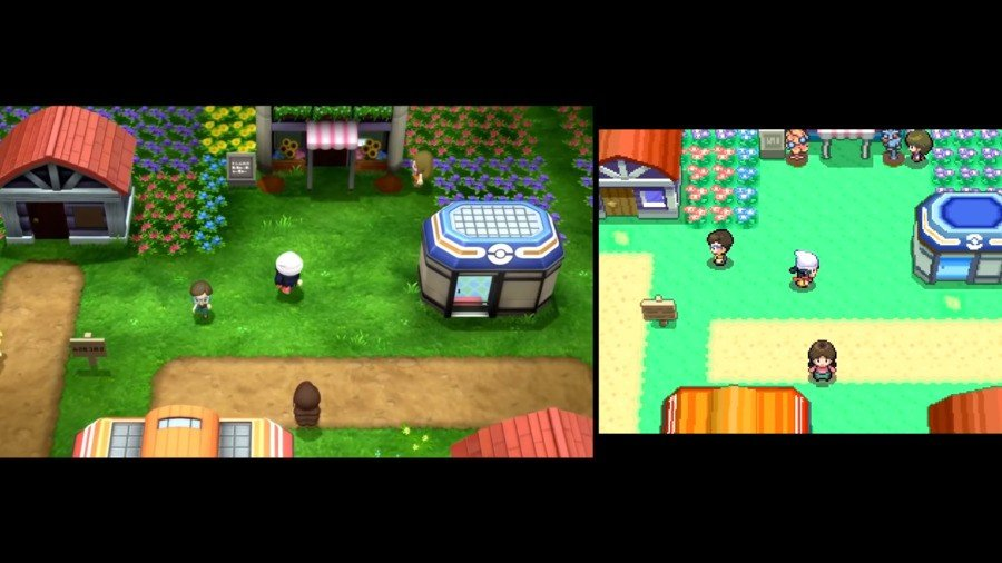 Video: Check Out This Side-By-Side Comparison Of Pokémon Diamond And Pearl On Switch And DS 9