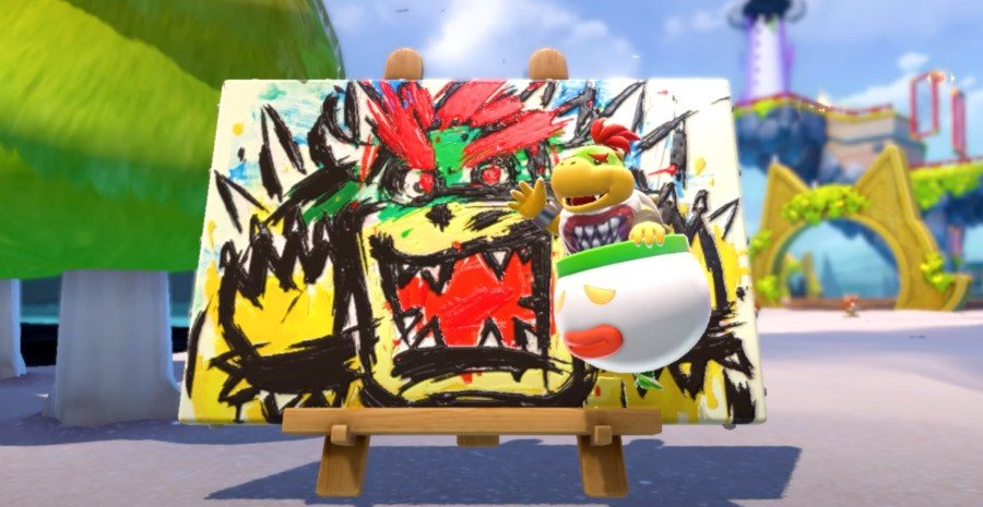 Video: Watch Japanese Comedy Duo Yoiko Play Through Bowser's Fury 1